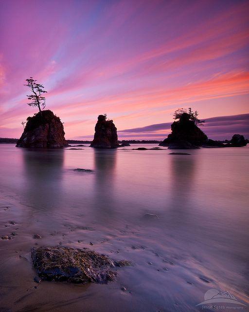 Sunset Oregon Coast hmm...never thought about the Oregon Coast!