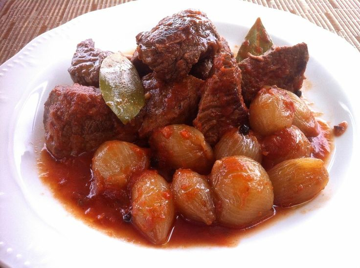 The perfect Greek beef stew!! Juicy and tender, melt-in-the-mouth beef stew with a delicious, slightly sweet, intense tomato-based sauce…