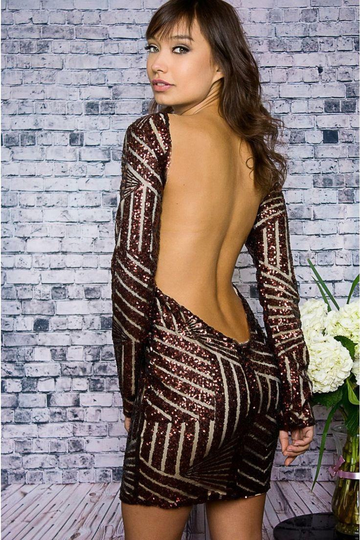 No Back Dress Crack Showing