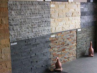 Sfeeroverzicht steenstrips van natuursteen