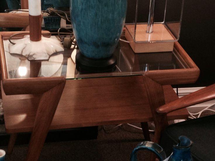 Side table mid century design