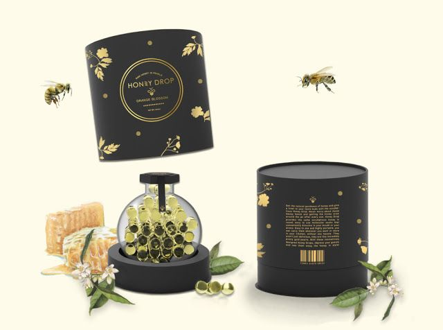 Honey Drop (Concept) on Packaging of the World - Creative Package Design Gallery