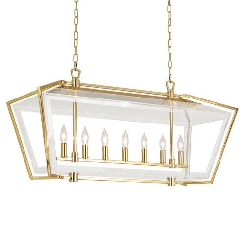 Use Over A Long Table Or Large Kitchen Island Such Pretty Combo With The Acrylic And B Pendants Chandeliers Pinte