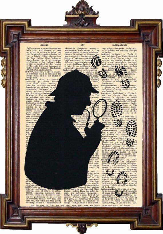 Sherlock Holmes book art