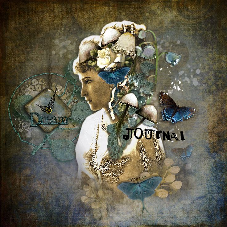 Just painting with the beautyful album Coldish.     ************ Dream Journaal ******** With Teddi Rutschman <3. ©Inadigital-artist2017. https://shop.scrapbookgraphics.com/foxeysquirrel/