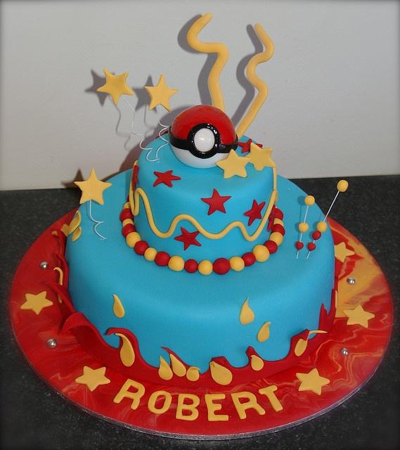 Pokemon Cake Pok 233 Mon Cake And Birthdays
