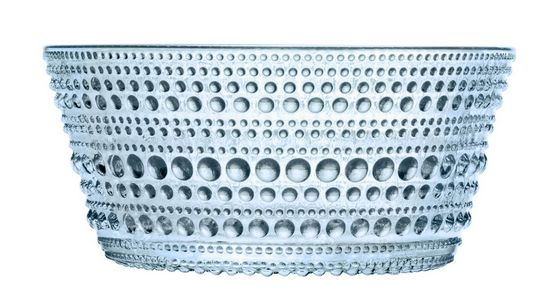 Kastehelmi bowl by Oiva Toikka for Iittala