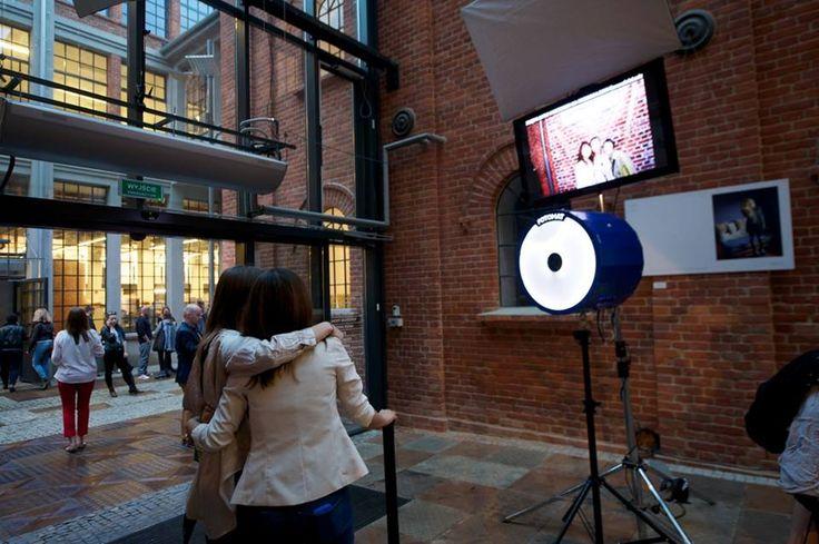 Photomat in Fotofestiwal Centre. Photo by Łukasz Szeląg. www.fotofestiwal.com