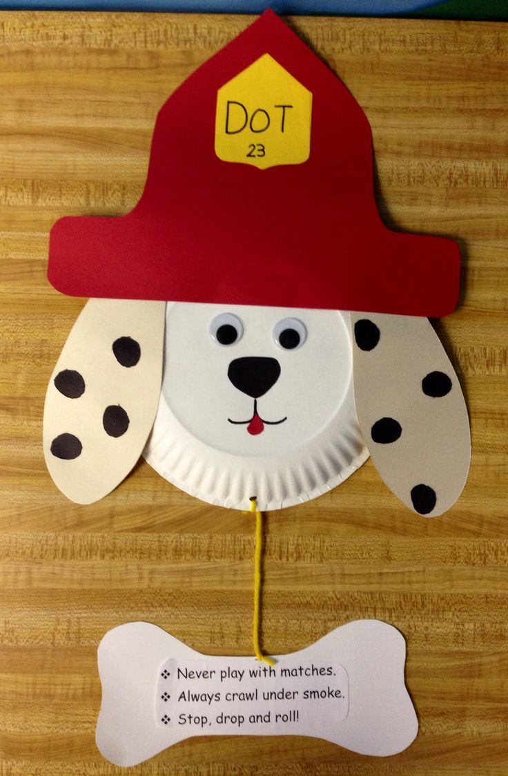 Dot the fire dog My creations