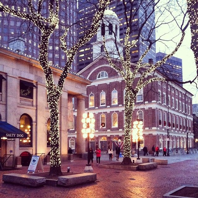 Faneuil Hall Marketplace in Boston, MA.
