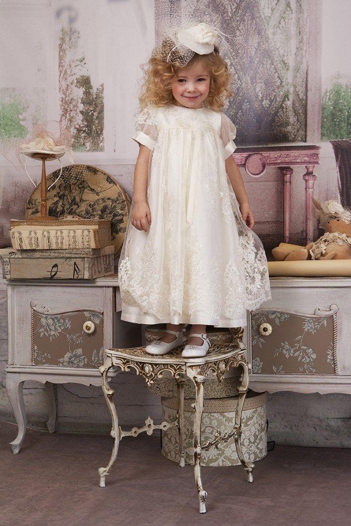 Christening Dress  Christening Gown Baptism Dress  Sty.No G 1001-1 www.babyhautecouture.com