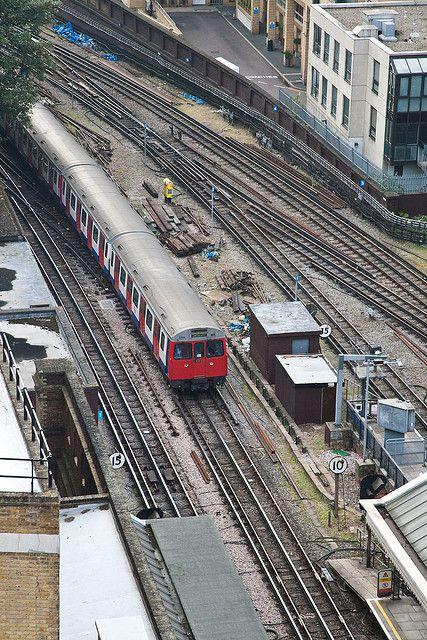 The Underground, From Kensington Roof Gardens, Kensington High Street, London