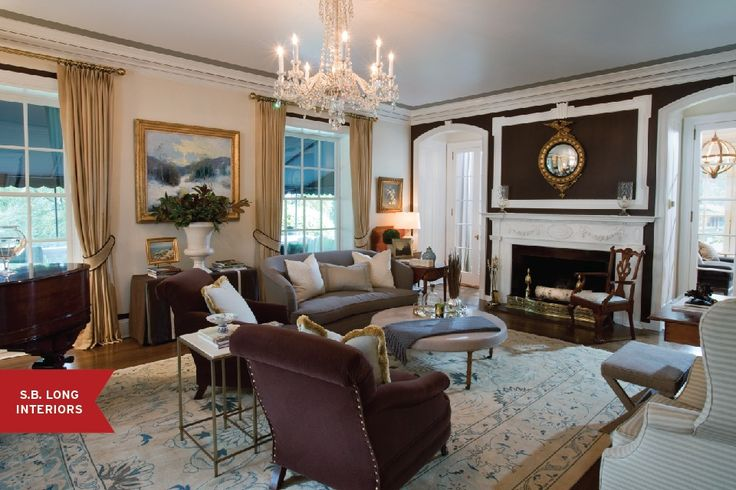 260 best images about greek revival interiors on pinterest for Warm inviting living room ideas