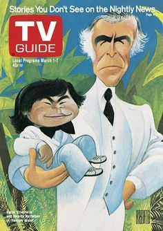 Al Hirschfeld - TV Guide Issue March 1, featuring Herve Villechaize and Ricardo Montalban from Fantasy Island. Description from pinterest.com. I searched for this on bing.com/images