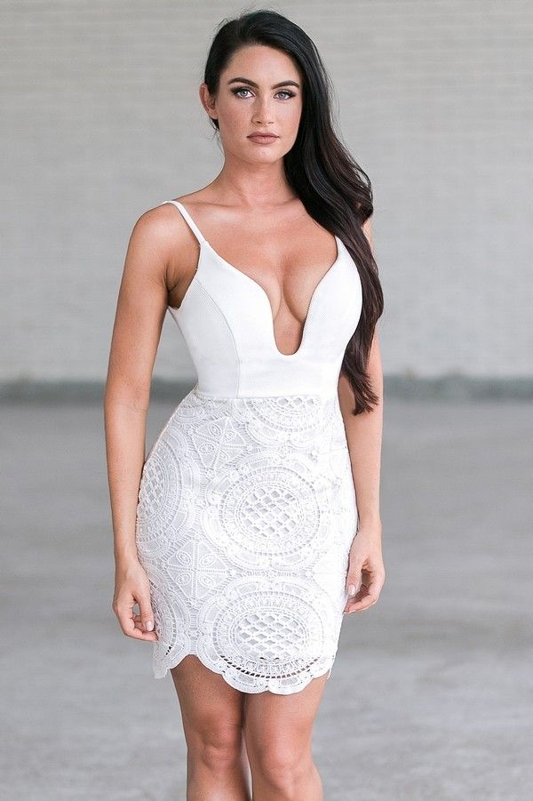 10  ideas about White Cocktail Dresses on Pinterest - Cocktail ...