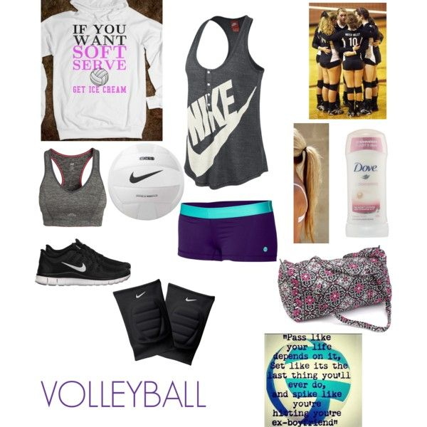 """Volleyball"" by sami17 on Polyvore cheap nike free 5.0 only $49, save up to 62% off for all #Nikes #Shoes"