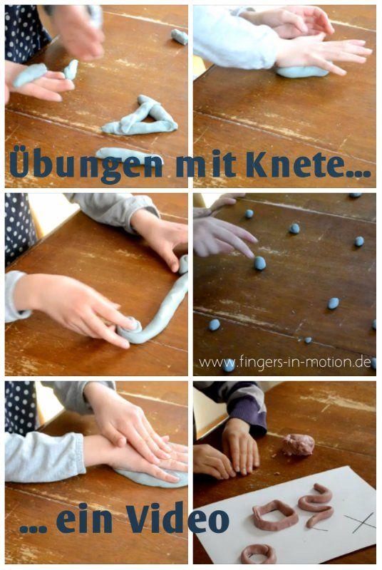 In diesem Video werden praktische Übungen gezeigt, die mit Knete durchgeführt werden. Die machen richtig Spaß und verbessern die feinmotorik die für die graphomotorik so wichtig ist.