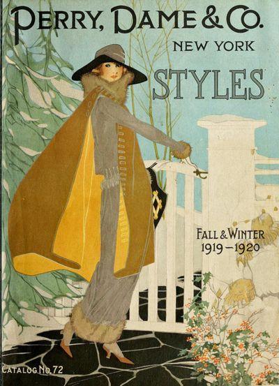 Winter fashion 1919