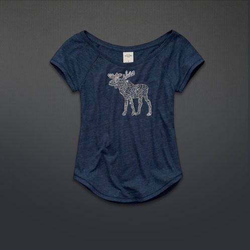 girls blythe embellished tee, casual and cute.