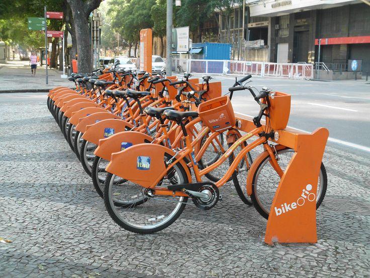 Bike Rio / ITAU Bairro Cinelândia / RJ