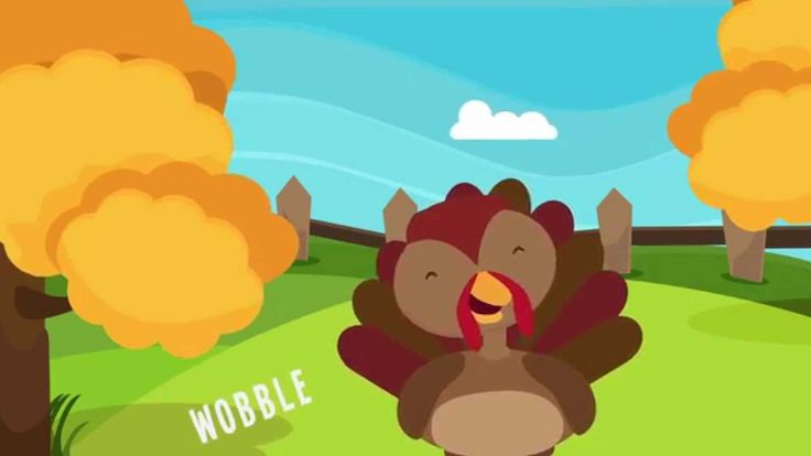 """Turkey is a Silly Bird"" is a simple and fun Thanksgiving song for preschool and kindergarten children. Kids will enjoy singing and dancing along to the #thanksgiving song!"