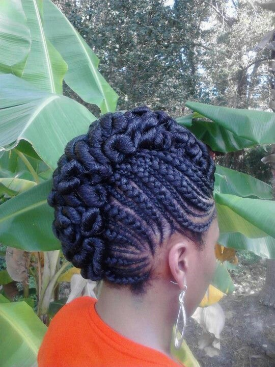 Astonishing 1000 Images About Braids And Updo39S On Pinterest Cornrows Hairstyle Inspiration Daily Dogsangcom