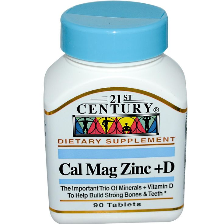 21st Century Health Care, Cal Mag Zinc + D, 90 Tablets - From Iherb coupon code YUY952 -   Visit iherb specials for latest discounts: http://www.iherb.com/specials?rcode=yuy952