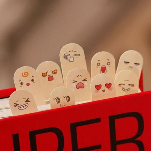 Finger #bookmarks. Pin if you like it! :)
