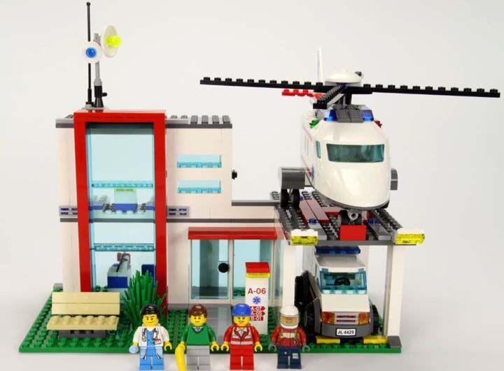 Lego rumah sakit