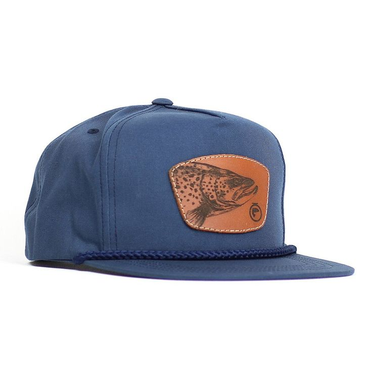 Fly fishing hats fly fishing trucker hat trout on the for Fishing snapback hats