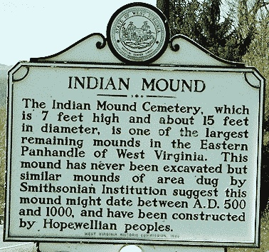 Indian Mound Cemetery, Romney, WV.