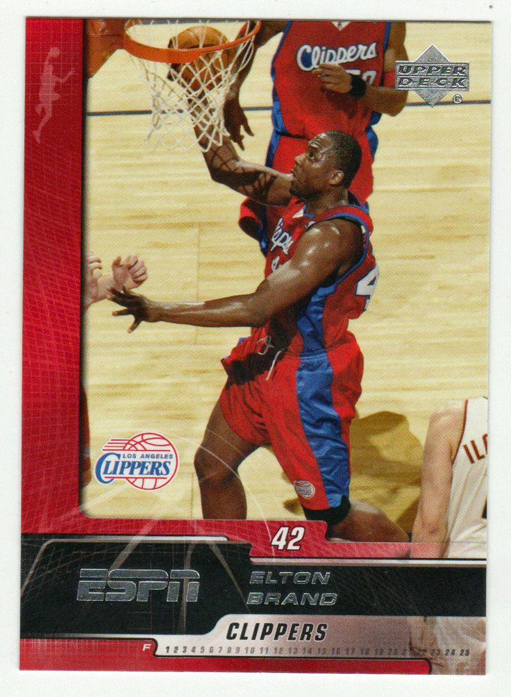 Elton Brand # 35 - 2005-06 Upper Deck ESPN Basketball
