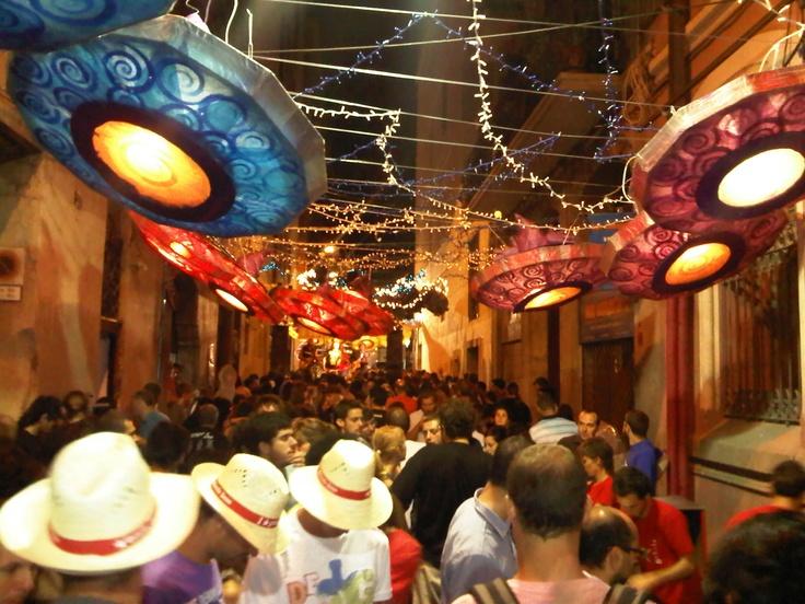 My fav pic from Festa Major de Gracia