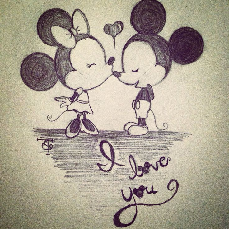 Minnie and her Mickey :)