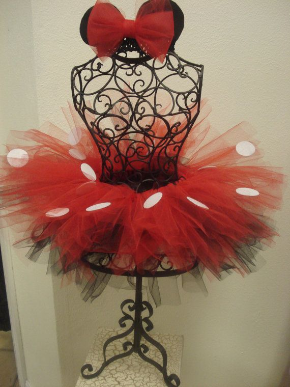 Adult Minnie mouse tutu by parisianbridal on Etsy, $42.99 Want this for our disney trip!