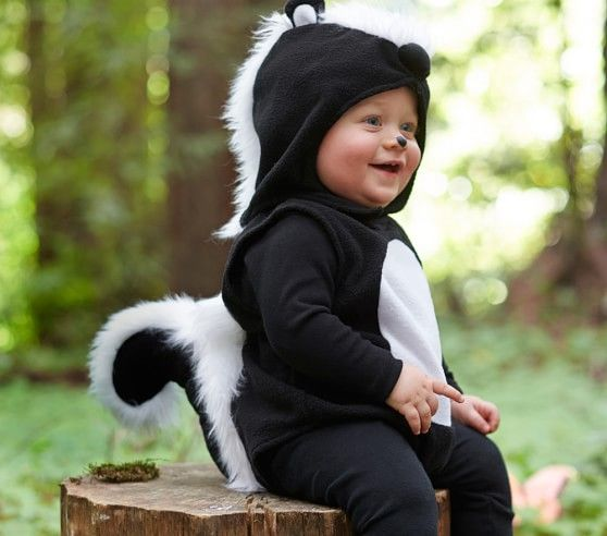 So adorable! Baby Skunk Costume | Pottery Barn Kids