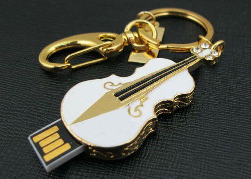 Jewelry Usb Flash Drive Creativo Guitar Pendrive 64GB 32GB 16GB 128GB Memoria USB Memory Stick Pen Drive 1TB 2TB 2.0 Disk On Key #Affiliate