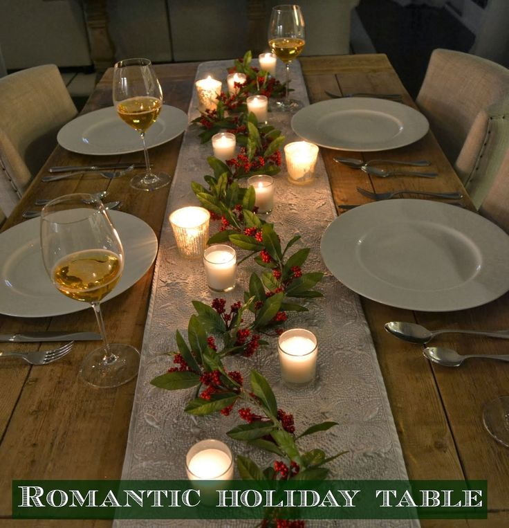 Romantic Holiday Setting