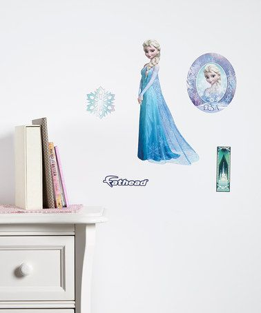 Look what I found on #zulily! Frozen Elsa Decal Set #zulilyfinds