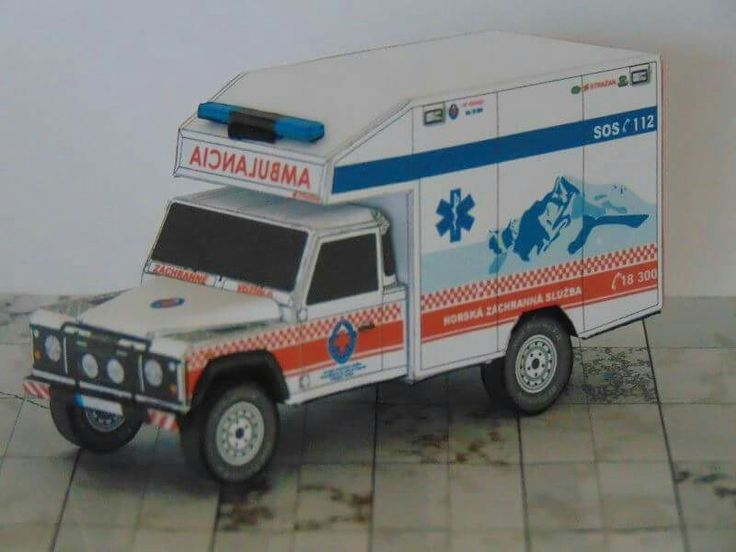 Land Rover Defender 130 Mountain Rescue Ambulance