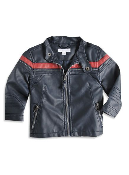 Little Boys Clothing Online - Pumpkin Patch USA... Trav's leather jacket is so similar to this. Pretty sure Kingston NEEDS this. Too Cute