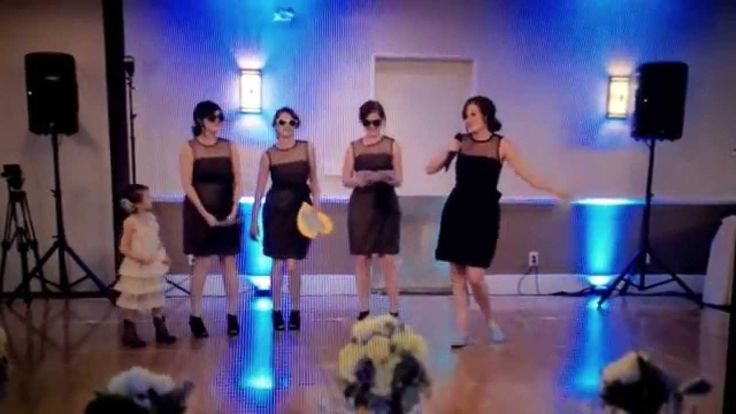 Bridesmaid Speech/RAP!
