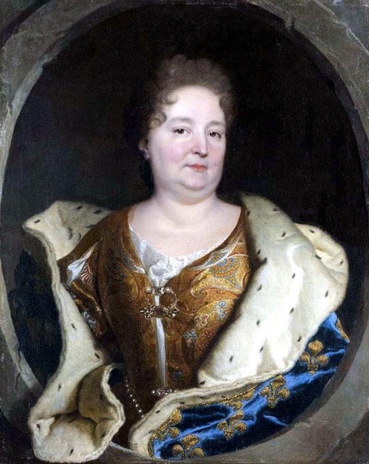 Posthumous portrait of Elisabeth-Charlotte du Palatinat d'Orleans, Madame (1652-1722), second wife of Philippe I d'Orleans, 1723, Workshop of Hyacinthe Rigaud (1659-1743)