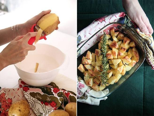 consigli per patate croccanti al forno