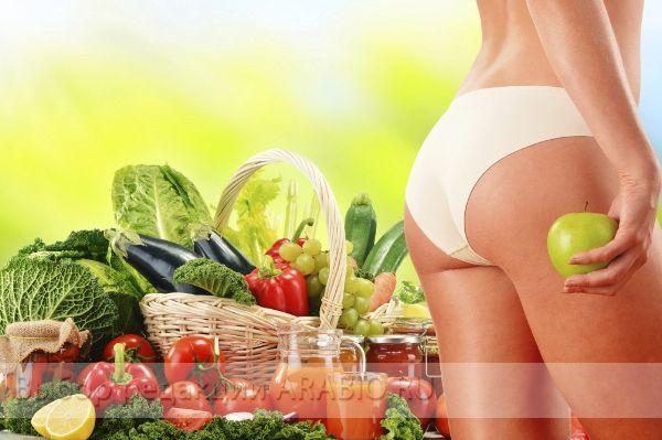 Убрать целлюлит на ногах поможет правильное питание