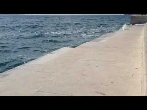 Sea Organ Zadar, Croatia || http://crolove.pl/morskie-organy-w-zadarze/ || #Zadar #SeaOrgans #Chorwacja #Croatia #Hrvatska