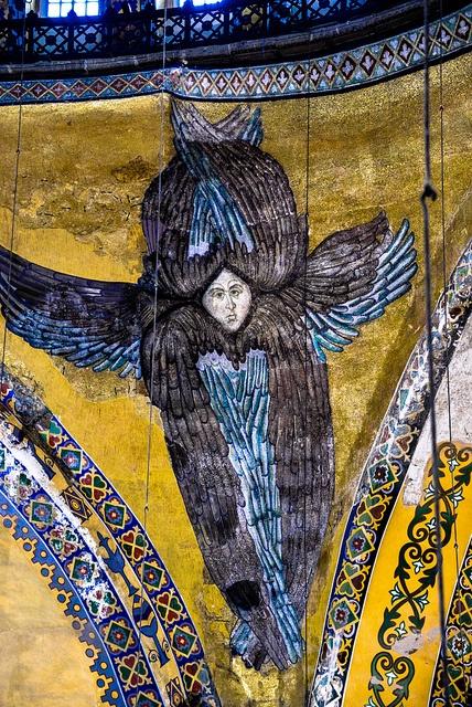 Six Winged Angel at Hagia Sophia - Ayasofya - Istanbul Turkey by mbell1975, via Flickr