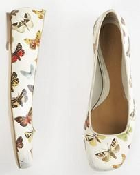 Butterfly shoes.