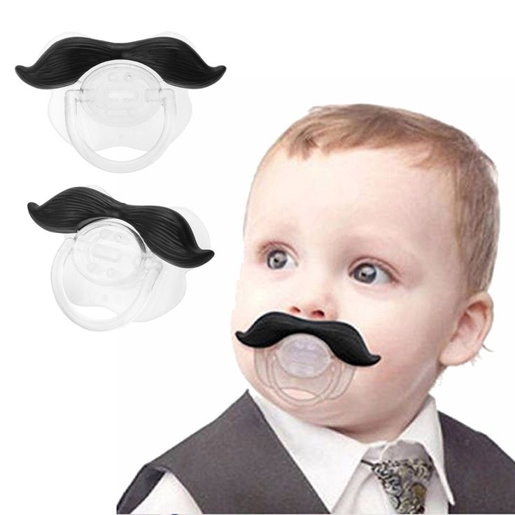 Silicone Funny Baby Pacifier Dummy Nipple Teethers Toddler Pacy Orthodontic Teat Infant Baby Christmas Gift Baby Care