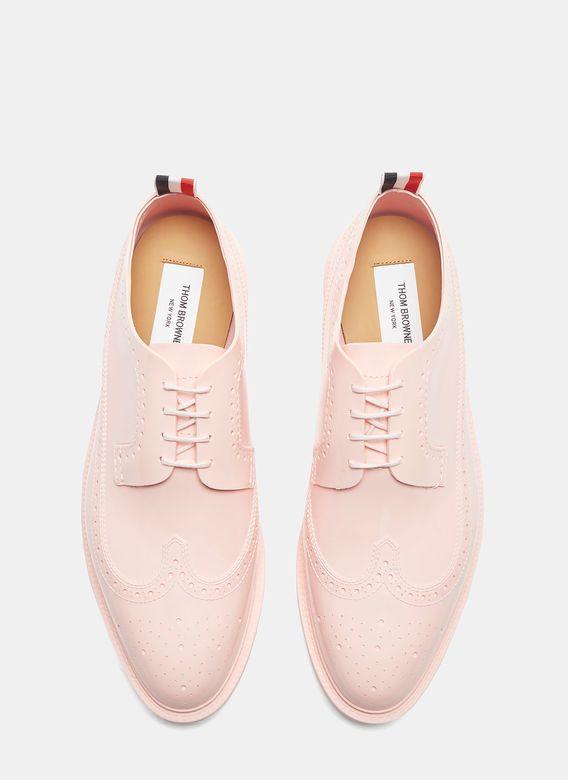 Men's Designer Lace Up Shoes | Find more at LN-CC - Rubber Brogue Shoes